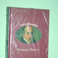 Libros: LUIS DE GÓNGORA *** LIBRO DE POESÍA *** COLECCION GRANDES POETAS (ORBIS - FABBRI) *** PRECINTADO. Lote 119253583