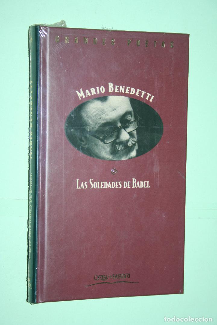 MARIO BENEDETTI *** LIBRO DE POESÍA *** COLECCION GRANDES POETAS (ORBIS - FABBRI) *** PRECINTADO (Libros Nuevos - Literatura - Poesía)