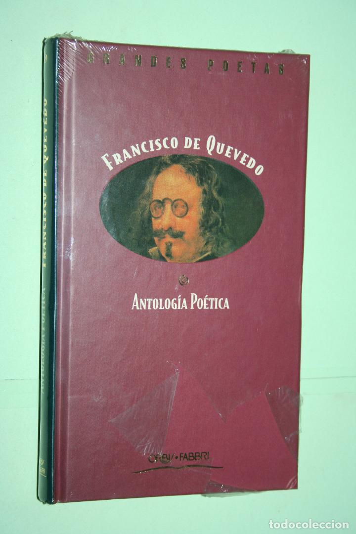 FRANCISCO DE QUEVEDO *** LIBRO DE POESÍA *** COLECCION GRANDES POETAS (ORBIS - FABBRI) *** PRECINTAD (Libros Nuevos - Literatura - Poesía)
