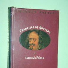 Libros: FRANCISCO DE QUEVEDO *** LIBRO DE POESÍA *** COLECCION GRANDES POETAS (ORBIS - FABBRI) *** PRECINTAD. Lote 119254063