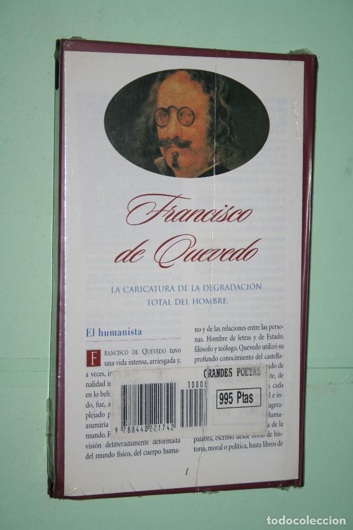 Libros: FRANCISCO DE QUEVEDO *** LIBRO DE POESÍA *** COLECCION GRANDES POETAS (ORBIS - FABBRI) *** PRECINTAD - Foto 2 - 119254063