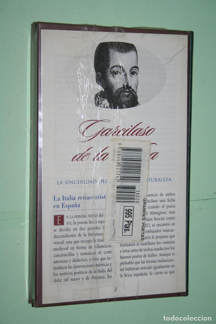 Libros: GARCILASO DE LA VEGA *** LIBRO DE POESÍA *** COLECCION GRANDES POETAS (ORBIS - FABBRI) *** PRECINTAD - Foto 2 - 119254103