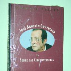 Libros: JOSE AGUSTIN GOYTISOLO *** LIBRO DE POESÍA *** COLECCION GRANDES POETAS (ORBIS - FABBRI) *** PRECINT. Lote 119257827