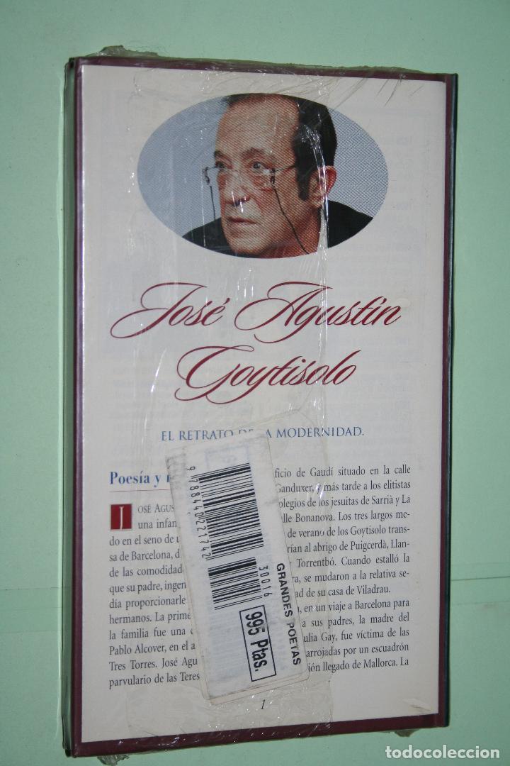 Libros: JOSE AGUSTIN GOYTISOLO *** LIBRO DE POESÍA *** COLECCION GRANDES POETAS (ORBIS - FABBRI) *** PRECINT - Foto 2 - 119257827