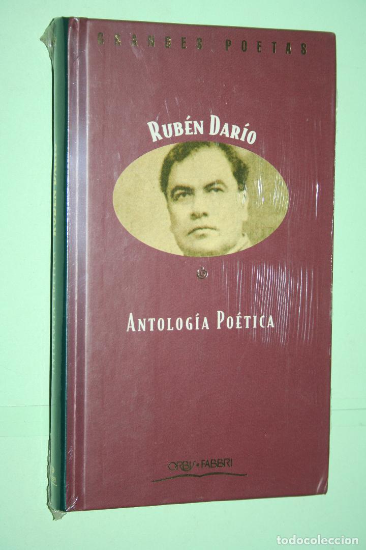 RUBÉN DARÍO *** LIBRO DE POESÍA *** COLECCION GRANDES POETAS (ORBIS - FABBRI) *** PRECINTADO (Libros Nuevos - Literatura - Poesía)