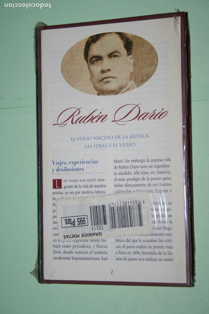 Libros: RUBÉN DARÍO *** LIBRO DE POESÍA *** COLECCION GRANDES POETAS (ORBIS - FABBRI) *** PRECINTADO - Foto 2 - 119263679