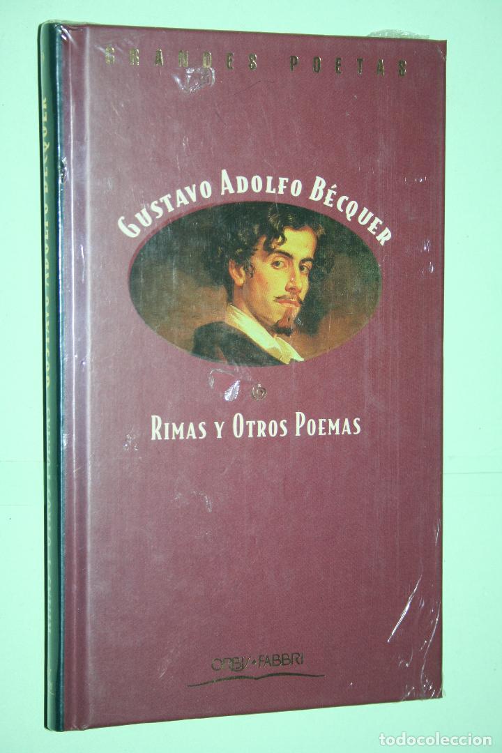 GUSTAVO A. BECQUER *** LIBRO DE POESÍA *** COLECCION GRANDES POETAS (ORBIS - FABBRI) *** PRECINTADO (Libros Nuevos - Literatura - Poesía)