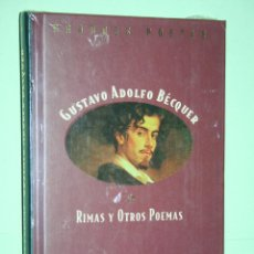 Libros: GUSTAVO A. BECQUER *** LIBRO DE POESÍA *** COLECCION GRANDES POETAS (ORBIS - FABBRI) *** PRECINTADO. Lote 119263751