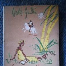 Libros: VERSOS NEGROS , NICOLAS GUILLEN MADRID 1950 EDINTER,S.A.. Lote 126408659