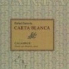 Libros: CARTA BLANCA CALAMBUR EDITORIAL, S.L.. Lote 70740465