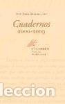 CUADERNOS (2000-2009) CALAMBUR EDITORIAL (Libros Nuevos - Literatura - Poesía)