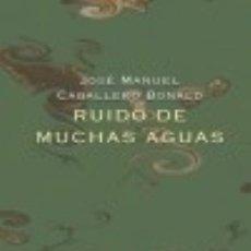 Libros: RUIDO DE MUCHAS AGUAS VISOR LIBROS, S.L.. Lote 67830282