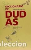 DICCIONARIO DE DUDAS (Libros Nuevos - Literatura - Poesía)