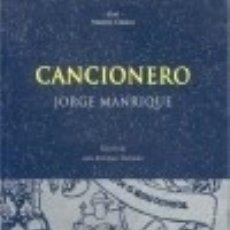 Libros: CANCIONERO. Lote 100344646