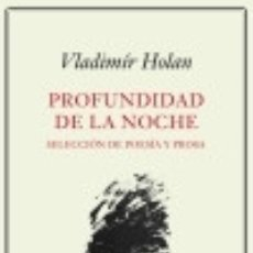 Libros: PROFUNDIDAD DE LA NOCHE. Lote 133698042