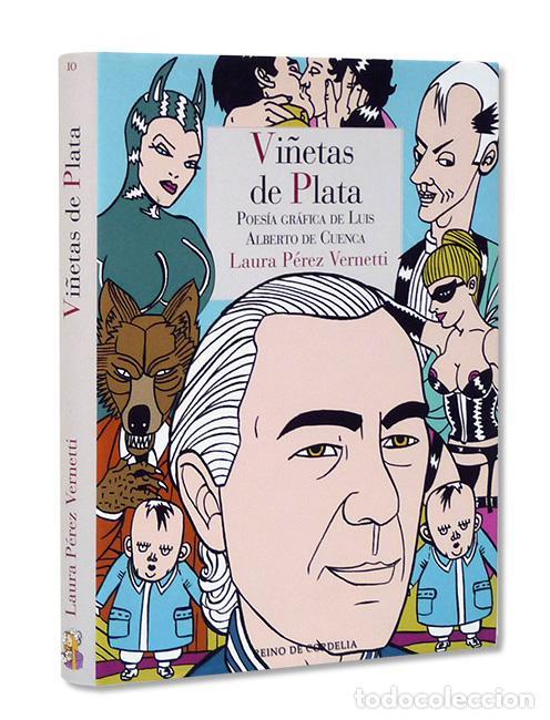 LUIS ALBERTO DE CUENCA. VIÑETAS DE PLATA. POESÍA GRÁFICA CON ILUSTRACIONES DE LAURA PÉREZ VERNETTI (Libros Nuevos - Literatura - Poesía)