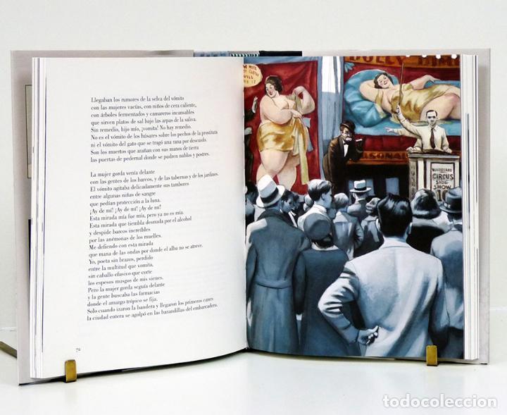 Libros: Federico GARCÍA LORCA.– Poeta en Nueva York. Ilustraciones de Fernando Vicente. Reino de Cordelia - Foto 3 - 134964107