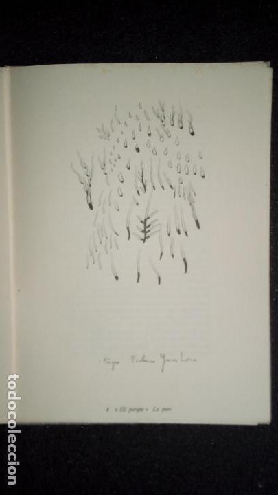 Libros: Cinco romances gitanos. García Lorca. Lorca, poeta y dibujante. Estudio de sus poemas. - Foto 3 - 136271666