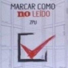 Livros: MARCAR COMO NO LEÍDO. Lote 139524608
