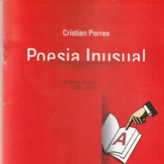 Libros: POESIA INUSUAL - CRISTIAN PORRES. Lote 140116614