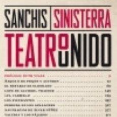 Libros: TEATRO UNIDO VOL. 1 (1980-1996). Lote 140374922