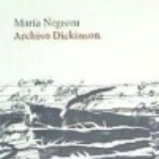 Libros: ARCHIVO DICKINSON. Lote 140366633