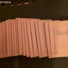 Libros: (POESÍA) LITORAL, REVISTA DE LA POESÍA Y EL PENSAMIENTO. REVISTA IMPORTANTE Y RARA.. Lote 147510294