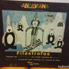Libros: BJS.FILASTROFES.EDT, NOVA... Lote 152390458