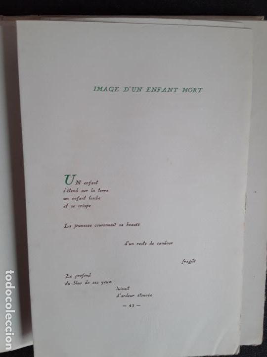 Libros: Diederichs Roland. Heurs et Maux. Illustrations de Jacques Arnoux. Poemas y prosa. - Foto 4 - 152557022