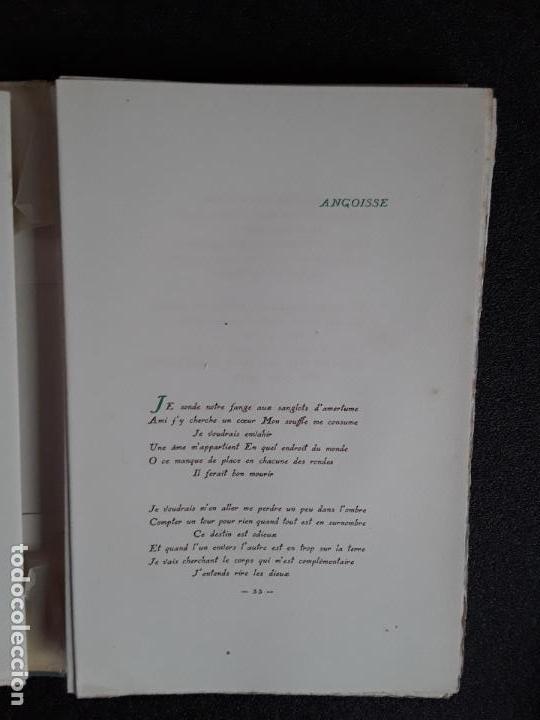 Libros: Diederichs Roland. Heurs et Maux. Illustrations de Jacques Arnoux. Poemas y prosa. - Foto 5 - 152557022
