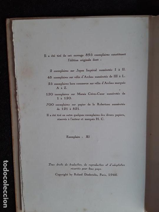 Libros: Diederichs Roland. Heurs et Maux. Illustrations de Jacques Arnoux. Poemas y prosa. - Foto 2 - 152557022