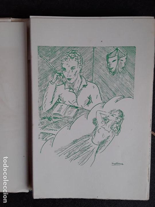 Libros: Diederichs Roland. Heurs et Maux. Illustrations de Jacques Arnoux. Poemas y prosa. - Foto 6 - 152557022
