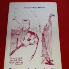 Libros: POEMAS DESDE MI ORILLA JOAQUÍN MÁS NIEVES 1976 ORIHUELA. Lote 152795098