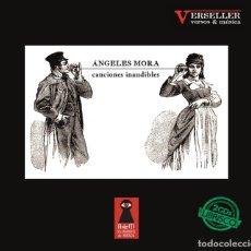 Libros: CANCIONES INAUDIBLES (EDICIÓN 2018) DE ÁNGELES MORA, EDITORIAL ALLANAMIENTO DE MIRADA. CONTIENE 2 CD. Lote 159309754