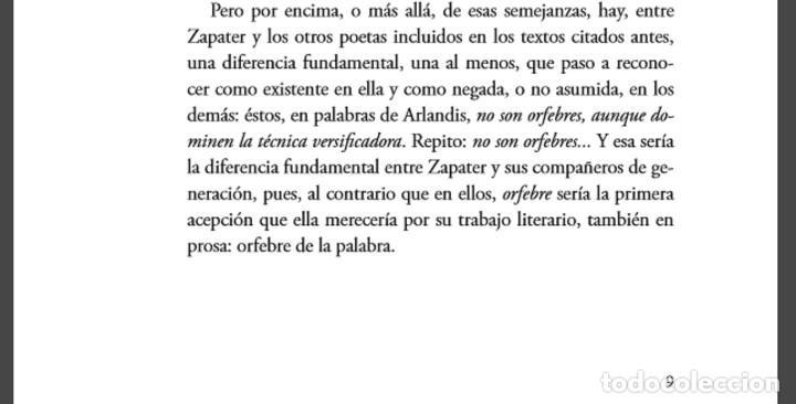 Libros: Poesía clásica de M. J. Zapater, con óleo de Jorge Rubert - Foto 2 - 159609086