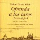 Libros: OFRENDA A LOS LARES. Lote 161273485