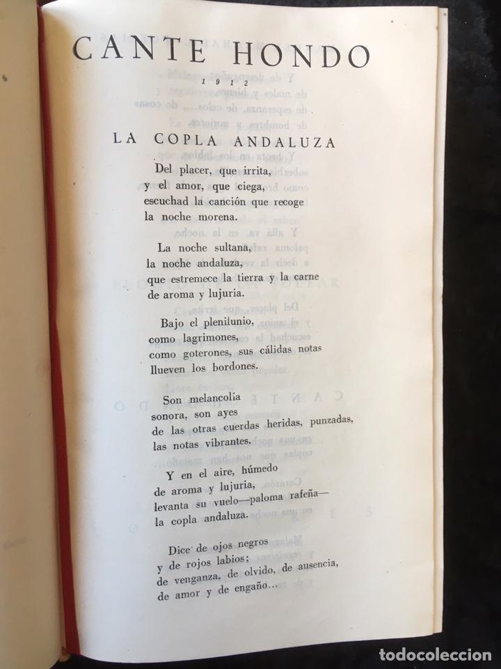 Libros: MANUEL Y ANTONIO MACHADO - OBRAS COMPLETAS - PLENITUD - 1947 - Limitada y numerada - PIEL - Foto 5 - 165076112