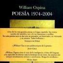 Libros: POESÍA 1974-2004. Lote 165377537