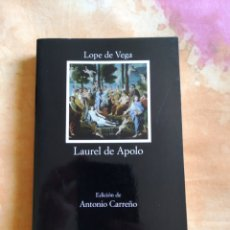 Libros: LAUREL DE APOLO - LOPE DE VEGA - CÁTEDRA. Lote 168038261