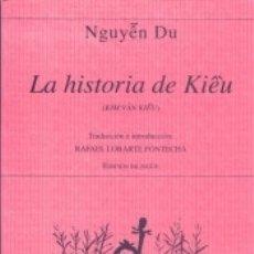 Libros: LA HISTORIA DE KIEU. Lote 171987443