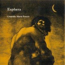 Libros: ESPHERA (LEOPOLDO MARÍA PANERO). Lote 172317134