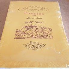Libros: JOIES DE LES LLETRES CATALANES. POESIES D'EN MARIUS TORRES. PRECINTADO.. Lote 173969002