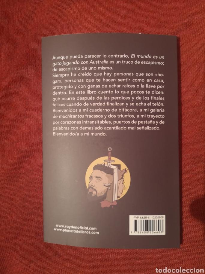 Libros: LIQUIDACIÓN TOTAL LIBRO RAYDEN EL MUNDO ES UN GATO JUGANDO CON AUSTRALIA, A3BANDAS - Foto 2 - 174489265