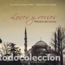 Libros: LUCES Y VERSOS: RETRATOS DEL MUNDO. Lote 178448142
