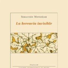 Libros: LA HERENCIA INVISIBLE (SEBASTIÁN MONDEJAR) CALAMBUR 2008. Lote 181343806