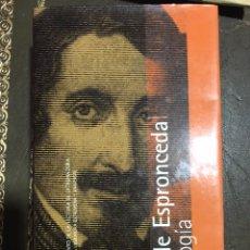 Libros: JOSÉ DE ESPROCEDA, ANTOLOGÍA 2003.. Lote 182022558