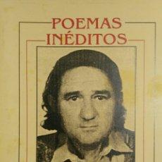 Livros: MIGUEL NUÑEZ PEDREGOSA. POEMAS INÉDITOS.. Lote 182042027