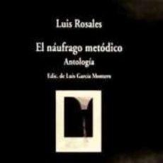 Libros: NAUFRAGO METODICO,EL. Lote 182603905