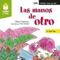 Libros: LAS MANOS DE OTRO. Lote 183078597