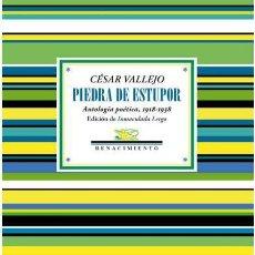 Libros: CÉSAR VALLEJO. PIEDRA DE ESTUPOR.. Lote 189307407